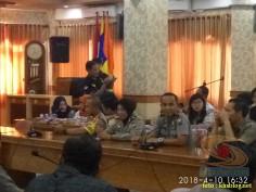 Sinau Humas bareng Polisi Se-Surabaya di FISIP Universitas Airlangga brosis. (9)