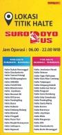 Daftar Rute dan halte Suroboyo Bus tahun2018