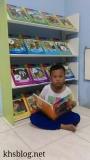 Perpustakkan Mini di Rumah Pendamping Anak-Anak BerpuasaRamadhan