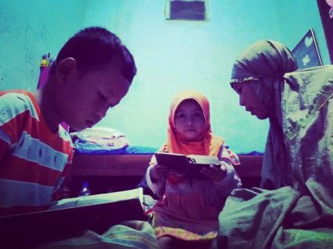 ramadhan bersama anak-anak keluarga setia1heri