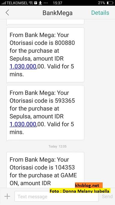Waspada Penipuan Via Telepon Bagi Pemegang Kartu Kredit Bank Mega