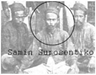 samin surosentiko pendiri ajaran samin